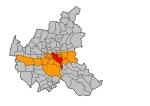 Wahlkreis 2 in Hamburg-Mitte